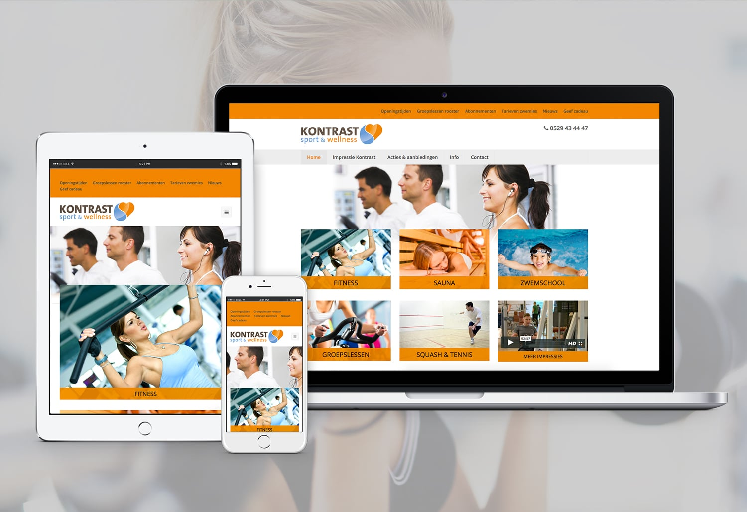 website sportschool